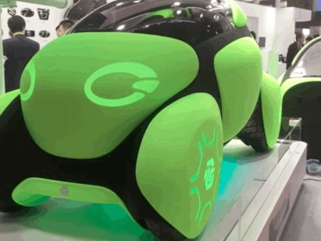 This Concept Car Has Airbags On The Outside