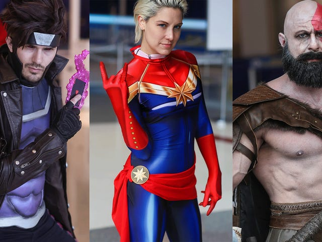 Comicpalooza'dan En Sevilen Cosplaylardan Bazıları 2019