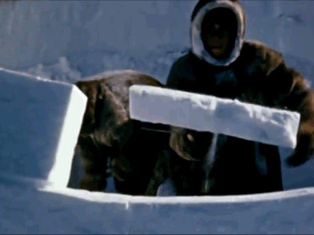 Cómo construir un perfecto iglú en 90 minutos, según un experto nativo del Ártico