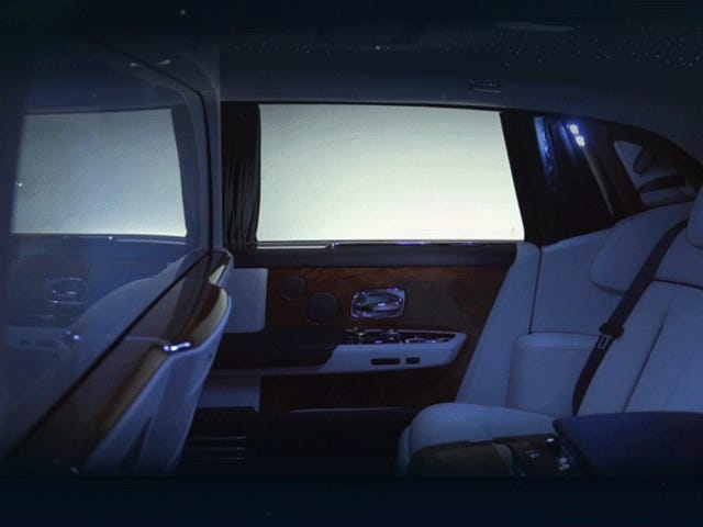Το Rolls-Royce τελικά θα με αφήσει να γυρίσω το πίσω κάθισμα του φάντασμα μου σε ένα Personal Opium Den