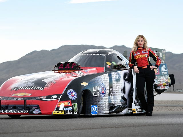 The Winningest Woman in NHRA Funny Car Racing Is Stepping Away From Driving