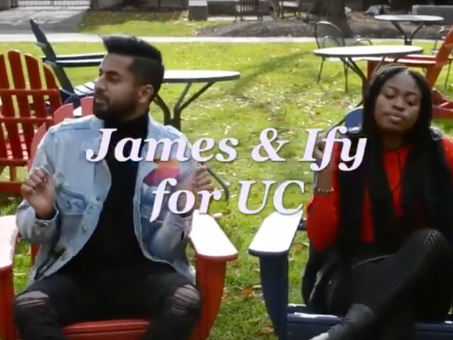 Behold, the world's greatest student government campaign video
