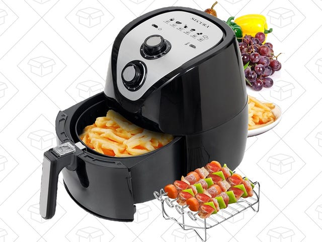 Cook Healthier Fried Foods with $76 Air Fryer