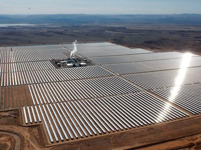 Marokko schaltet die erste Phase der weltweit größten Solaranlage ein