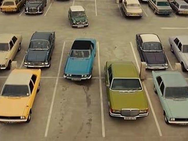 Aqui estão alguns dos carros em arranha-céus