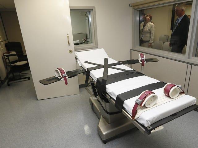 Oklahoma anuncia ve asfixia, nitrógeno de la los angeles de la condenados