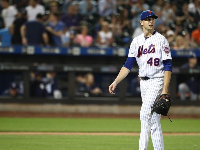 Non ci crederai, ma Jacob DeGrom ha fatto un grande balzo e i Mets hanno perso comunque