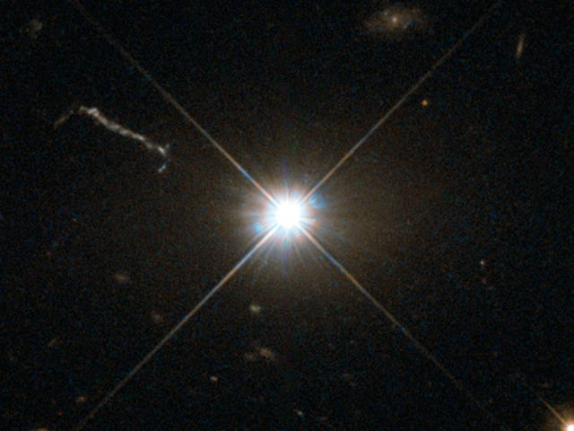 '幽灵'量子纠缠使用遥远的类星体确认