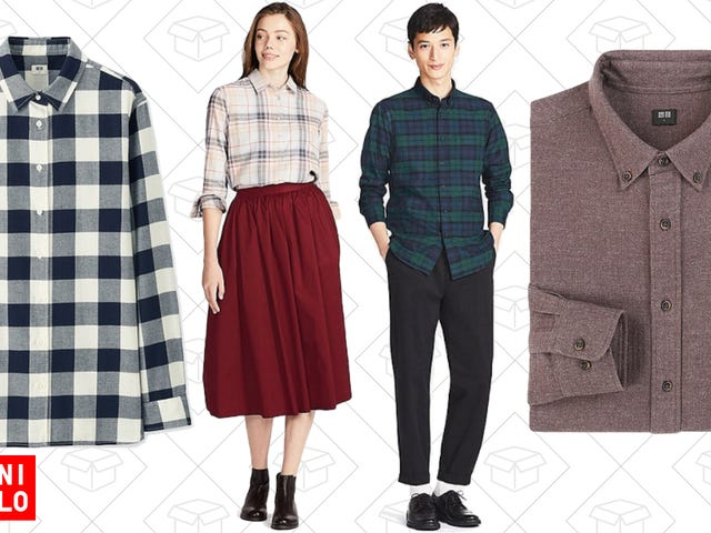 Flannel Season is Upon Us, So Uniqlo Is Marking Them All Down To Just $20
