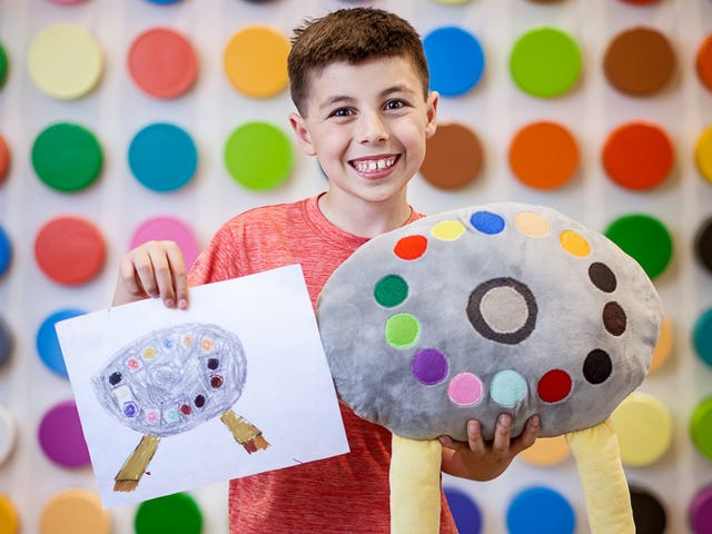 Crayola vil gøre din barns dårlige tegninger til bedre plysj legetøj