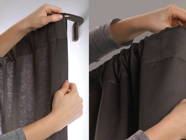 Take Your Curtains From the Window to the Wall With Umbra's Twilight Rod