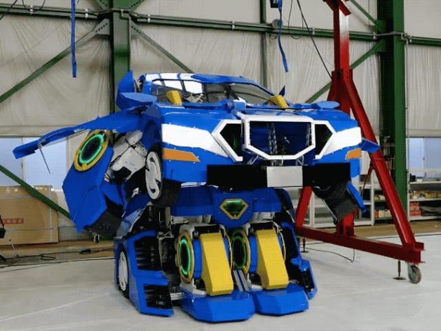Japão está fazendo nosso <i>Transformer</i> sonhar