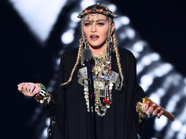 Madonna Feels 'Raped' by That New York Times Profile