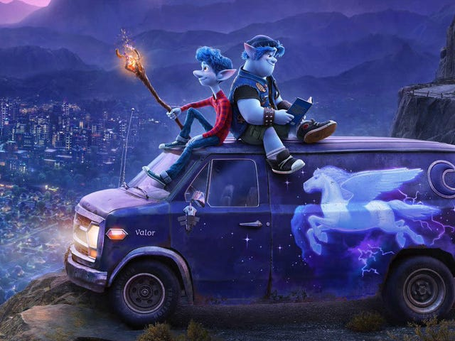 Pixar Does Its Own Brand of Fantasy in the Curious First Trailer for Onward