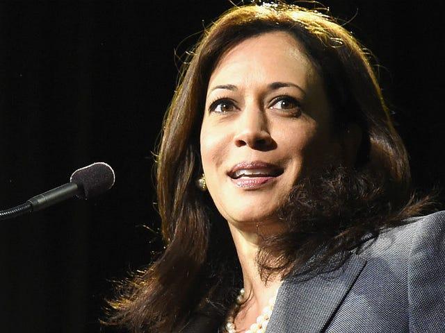 Kamala Harris erklærer sitt bud på California Senatet, vi hylder
