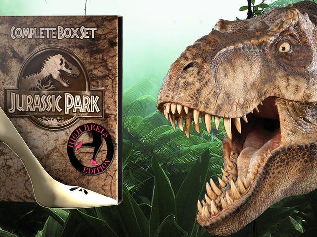 Du har ikke set <i>Jurassic Park</i> indtil du har set den i høje hæle