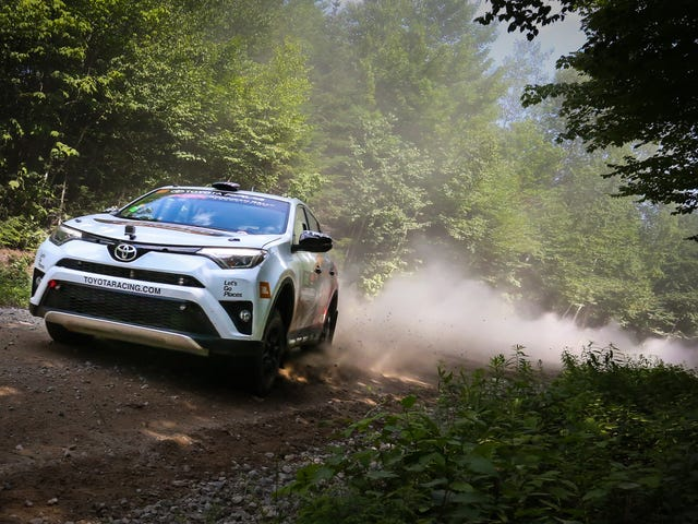 I Found A Way To Have Fun In The 2017 Toyota RAV4: Off-Road The Shit Out Of It