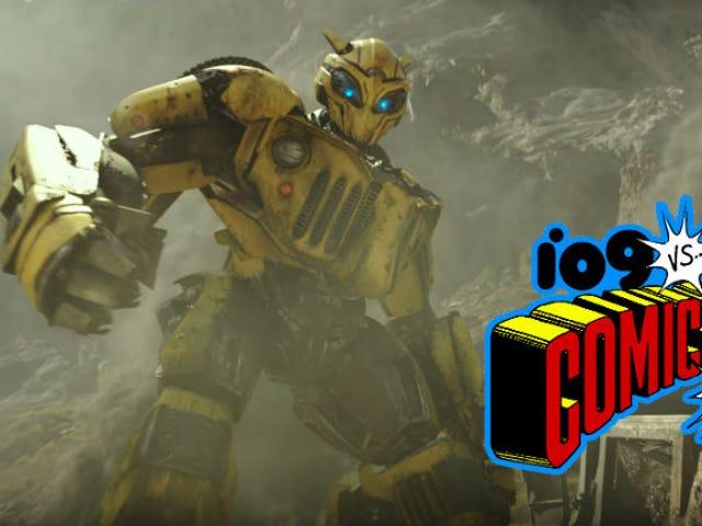 BumblebeeIncludes Cybertron, Optimus Prime, and Some Decepticon Surprises