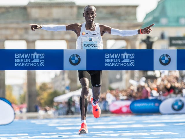 Eliud Kipchoge Breaks Marathon World Record By More Than A Minute