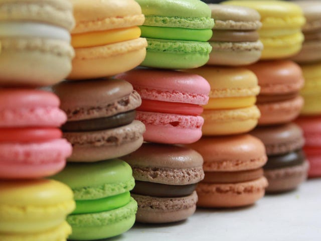 Brain Candy: Macarons hợp lý không bị nhầm lẫn với Macaroons