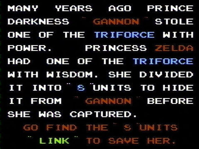 The Original Legend of Zelda - What's It All About