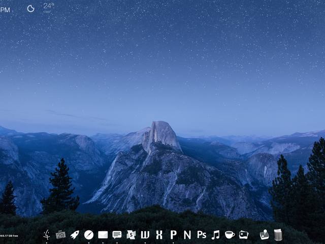 Der Glacier Point Desktop