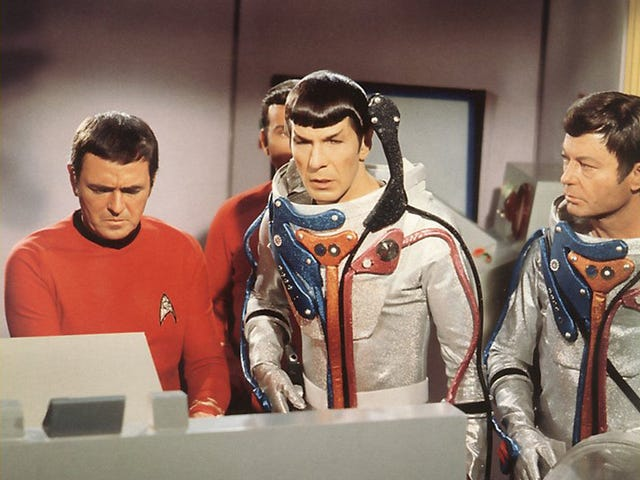 Another Star Trek adventurer off for another voyage, so long Mr. Spock, say hi to Bones and Scotty w