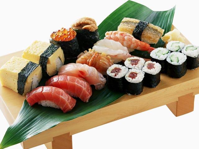 Jag ska köpa lite sushi nu