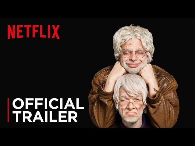 Volte aos bastidores com Gil e George no trailer de Oh, Hello On Broadway