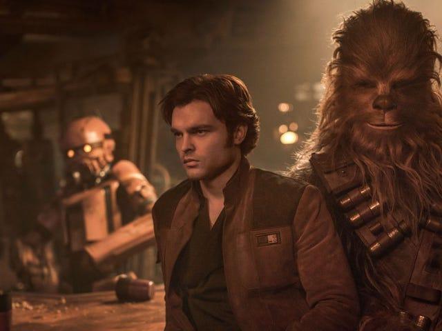 Una serie spin-off de Solo: A Star Wars Story estaría en desarrollo para Disney+