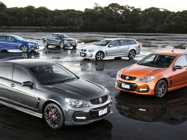 You Can Still Buy a 'New' Chevrolet SS in Australia, Even Though Production Ended a Year Ago