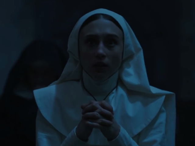 All the Prayer in the World Won't Stop The Nun in This Latest Clip
