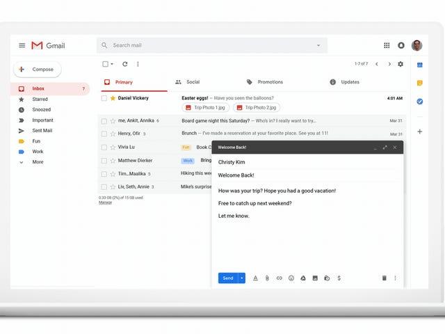 Gegarandeerd Gmail per e-mail voor programmatische e-mails