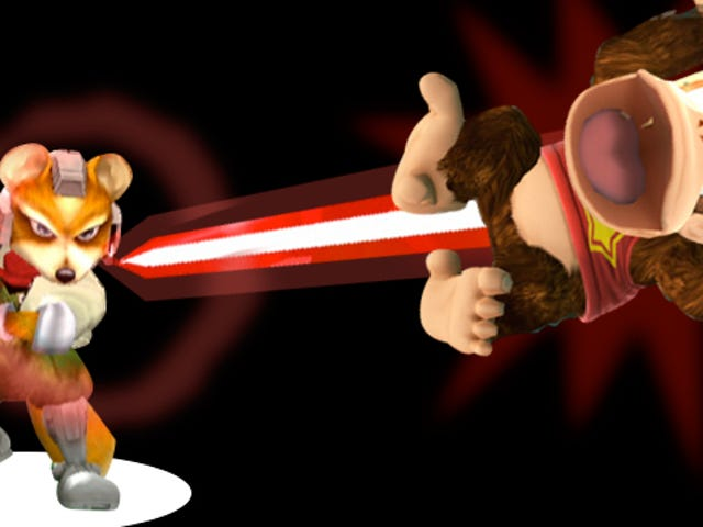 <i>Smash Bros.</i> दिल में एक दरार है <i>Smash Bros.</i> दृश्य