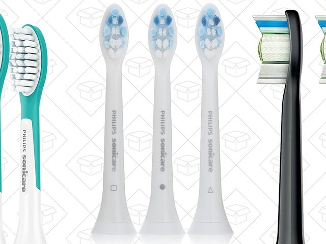 Stock Up On Replacement Sonicare Heads For Up To $8 Off