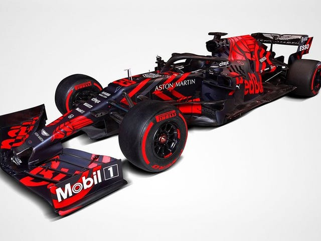 Red Bull Should Run This Livery All Season.