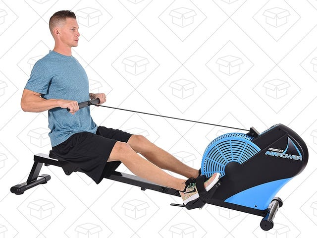 Get a Great Workout at Home With This Discounted Air Rower, Today Only