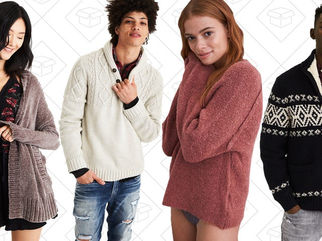 Stay Warm With $25 Sweaters from American Eagle