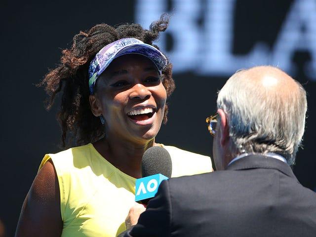 ESPN utilise l'effet 'Gorilla Effect' et Drops Announcement qui est venu pour Venus Williams