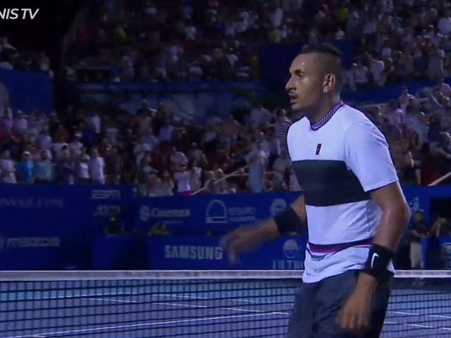 Nick Kyrgios Got Under Rafael Nadal's Skin In Front Of A Jeering Crowd