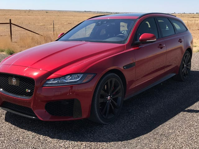 Just in Time For the Holidays, Jaguar Is Giving Massive Discounts On the XF Sportbrake