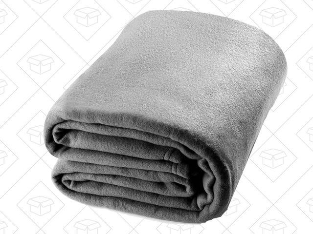 Cozy Up With This Highly-Rated Fleece Blanket For Just $19