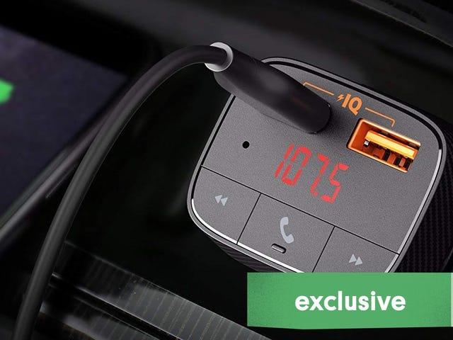 Añade audio inalámbrico a tu coche con este transmisor de $13 [Exclusivo]