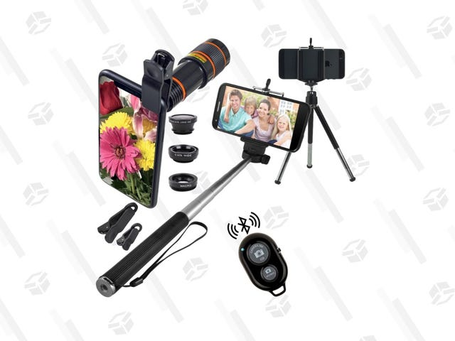 Level up Your Selfie Game for Just $19 With This Ten Piece Bundle
