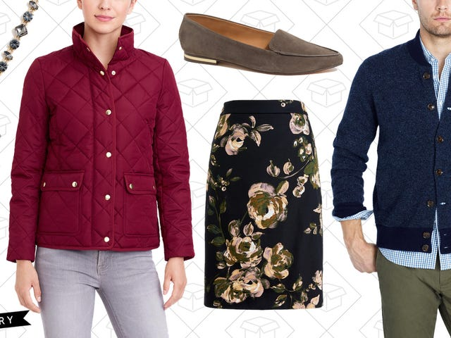 It Wouldn't Be The Holiday Season Without an Extra 50% Off J.Crew Factory Sale Styles