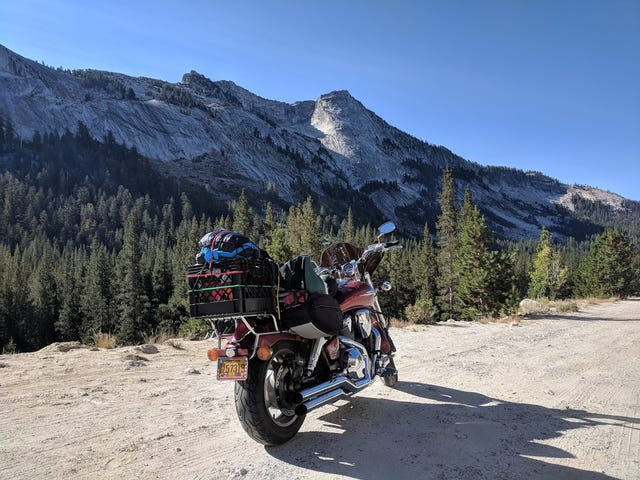 Motorcycle Road Trip, Day 8: Yosemite