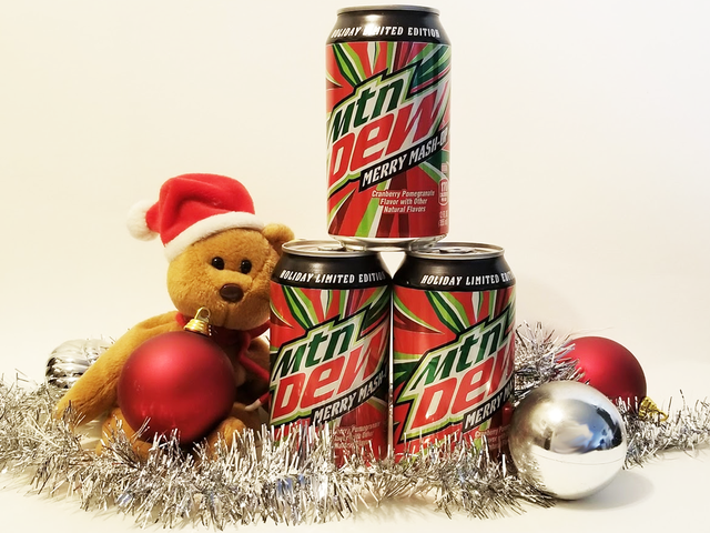 Mountain Dew Merry Mash-Up Is Like Christmas In A Can