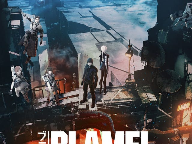 Enjoy the new trailer of Blame!