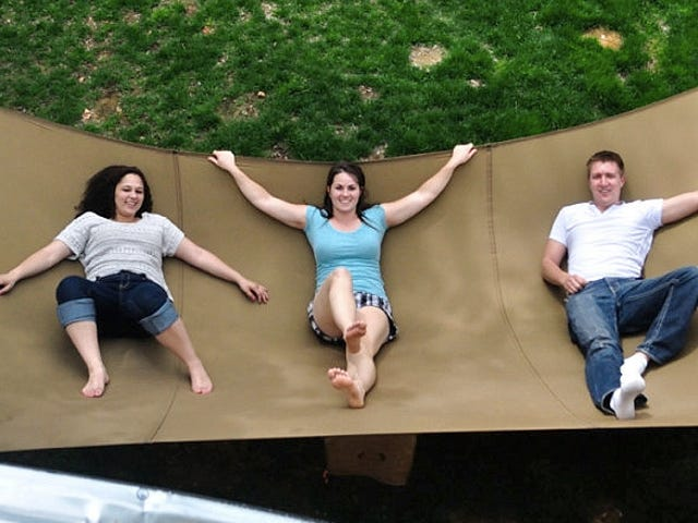 Your Entire Family Can Waste Away the Summer On This Mega Hammock