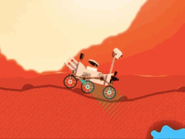 Ви можете бути цікавістю Rover в новій водійській грі NASA